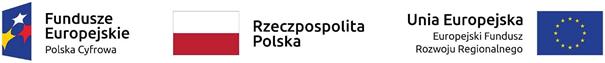 Logotypy Fundusze Europejski Reczpospolista Polska Unia Europejska